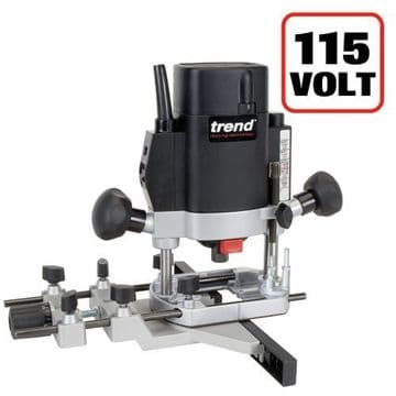 """Trend 1000W 1/4"""" Variable Speed Router 115V - UK sale only"""